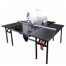 BSM  AM5-АН-RК-800/-M5-800H Автоматизированная машина для стежки курток и других изделий с дополнительным механизмом ножа (фигурная резка)