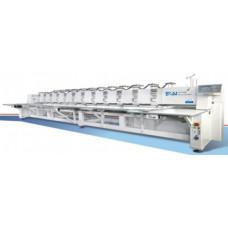 BSM SM3-FB Многоголовая промышленная автоматическая вышивальная машина