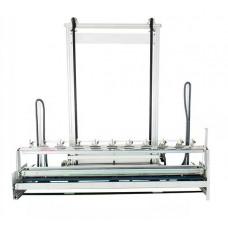 Рабочая автоматическая станция для вертикального раскроя полотна штор