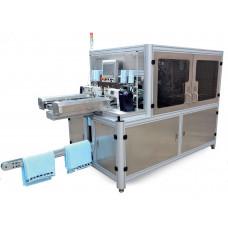 Машина для поперечного раскроя, подгибки и вставки этикетки Aurora FTTS-500