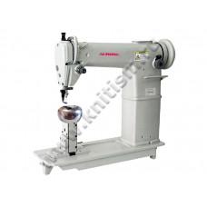 Одноигольная колонковая машина для пришивания прядей волос к кукольной головке и парикам Aurora A-6810-W