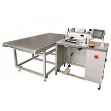 Рабочая станция на базе одноигольной швейной машины для подшивки штор