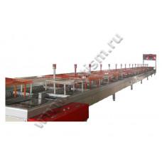 Конвейер швейный транспортировочный U-образный (Стальная конструкция)